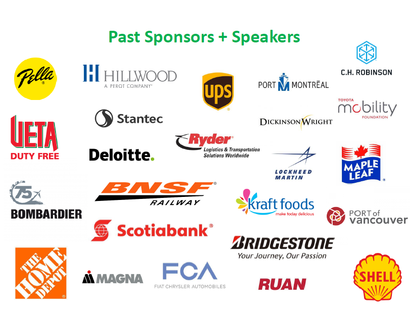 Past Sponsors + Speakers