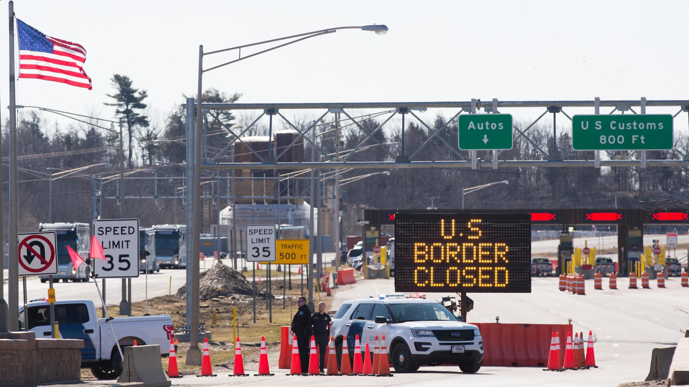 US Border Closed